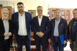 Συνάντηση του Προέδρου της ΠΟΕ - ΔΕΥΑ με τον Περιφερειάρχη Θ. Καρυπίδη