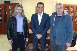 Επίσκεψη της Εθελοντικής Ομάδας ΚΕΛΕΤΡΟΝ στον Περιφερειάρχη Θ. Καρυπίδη