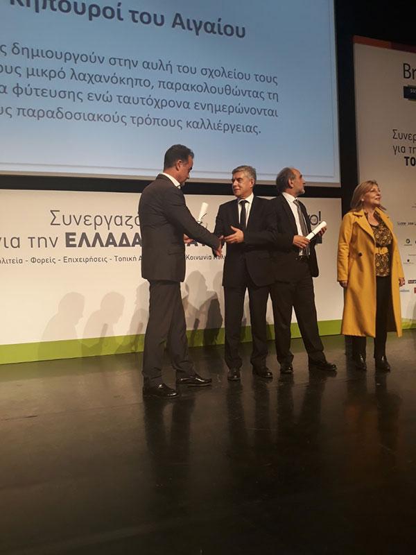 Βράβευση της Περιφέρειας Δυτικής Μακεδονίας ως εταίρος στο έργο REGIO-MOB 1