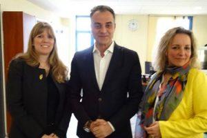 Συνάντηση Περιφερειάρχη με την Εμπορικό Ακόλουθο της Γαλλικής Πρεσβείας – Business France και τη Διευθύντρια του Γερμανικού Οργανισμού Προώθησης Επενδύσεων & Εξωτερικού Εμπορίου GTAI (German Trade and Invest)