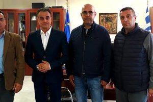 Συνάντηση Περιφερειάρχη Δυτικής Μακεδονίας με το Δ.Σ. της Ένωσης Συνοριακών Φυλάκων Ν. Καστοριάς