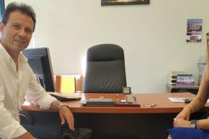 Η παράδοση - παραλαβή του Γραφείου Προέδρου του Περιφερειακού Συμβουλίου Δυτικής Μακεδονίας