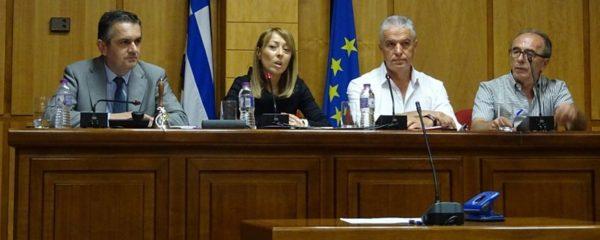 Προεδρείο Περιφερειακού Συμβουλίου Δυτικής Μακεδονίας 2019