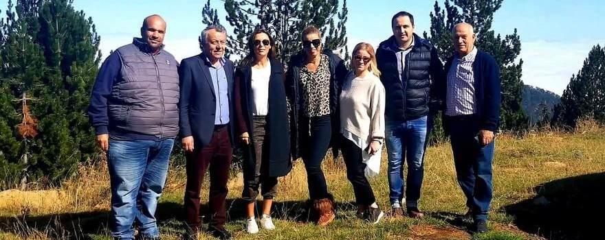 Επίσκεψη της εταιρίας KORRES στον Εθνικό Δρυμό της Βάλια Κάλντα στα Γρεβενά