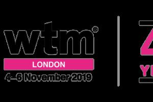 wtm london 2019 λογότυπο