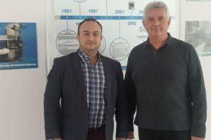 Τα γραφεία του ΚΕΠΑ ΑΝΕΜ στη Θεσσαλονίκη επισκέφθηκε ο αρμόδιος Αντιπεριφερειάρχης Περιφερειακής Ανάπτυξης κος Νικόλαος Λυσσαρίδης
