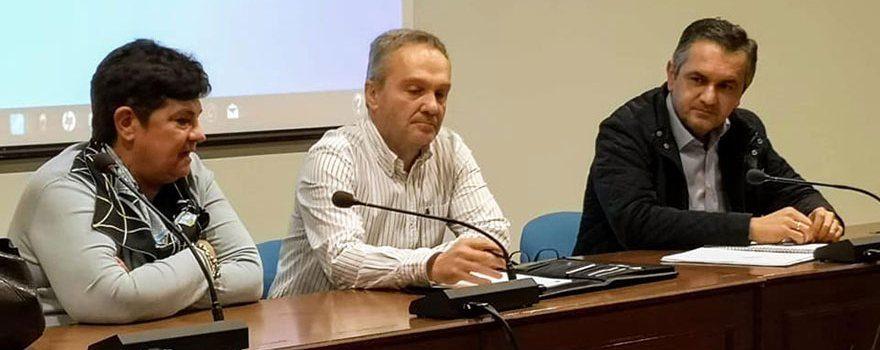 Συνάντηση Κασαπίδη με εκπροσώπους των ΤΟΕΒ