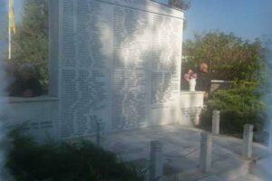 79 χρόνια μετά, η σημερινή μέρα αποτελεί για εμάς υπενθύμιση του οφειλόμενου χρέους τιμής στα θύματα της μαρτυρικής Κοινότητας Μεσοβούνου