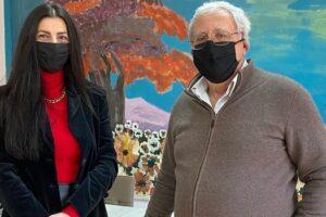 Επίσκεψη της Αντιπεριφερειάρχη Παιδείας και Πολιτισμού, κας Πουταχίδου Όλγας, στις Σχολικές Μονάδες Ειδικής Αγωγής Εορδαίας