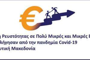 3η Τροποποίηση της Αναλυτικής Πρόσκλησης της Δράσης «Στήριξη Ρευστότητας σε Πολύ Μικρές και Μικρές Επιχειρήσεις που επλήγησαν από την πανδημία Covid-19 στην Δυτική Μακεδονία» του ΕΠ-ΠΔΜ, ΕΣΠΑ 2014-2020