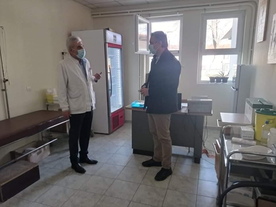 Στη μάχη κατά της πανδημίας και το Κέντρο Υγείας Σερβίων - Λειτουργία του ως εμβολιαστικό Κέντρο, αρωγός στον αγώνα κατά του κορωνοϊού 2
