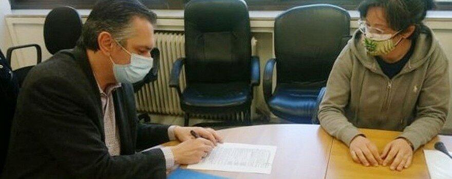 Ολοκλήρωση κτιριακών υποδομών Σχολής Πυροσβεστών στην Πτολεμαΐδα. Υπογραφή σύμβασης 1