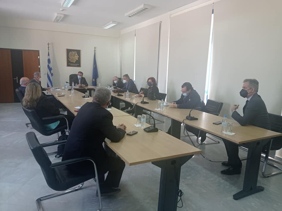Επίσκεψη του Προέδρου ΕΛΓΑ κ. Ανδρέα Λυκουρέντζου στη Δυτική Μακεδονία για τις σοβαρές ζημίες από παγετό στις δενδρώδεις καλλιέργειες της Περιφέρειας 2