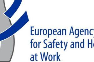 Ευρωπαϊκός Οργανισμός για την Ασφάλεια και την Υγεία στην Εργασία (EU-OSHA) λογότυπο
