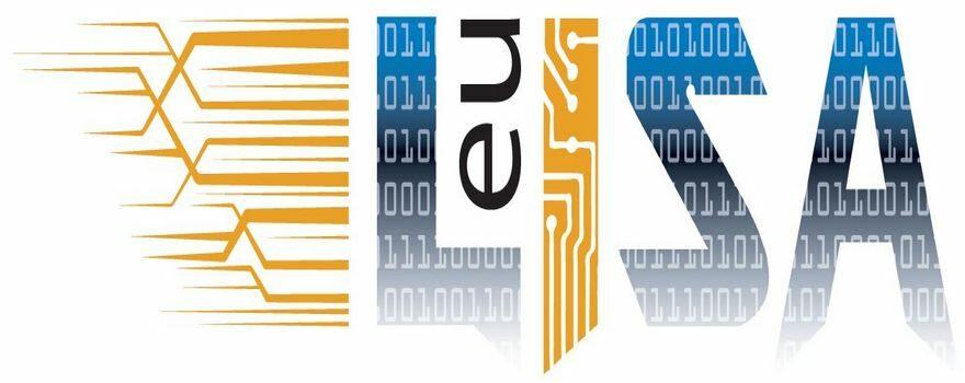 Ευρωπαϊκός Οργανισμός για τη Λειτουργική Διαχείριση Συστημάτων Τεχνολογιών Πληροφορικής Ευρείας Κλίμακος στο Χώρο της Ελευθερίας, Ασφάλειας και Δικαιοσύνης (eu-LISA) λογότυπο