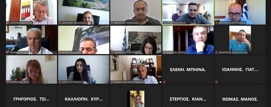 4η συνεδρίασης Εκτελεστικής Επιτροπής ΠΔΜ (10-5-2021)