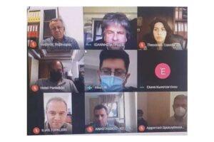 Πραγματοποιήθηκε σήμερα, Παρασκευή 04 Ιουνίου, διαδικτυακή συνάντηση, σχετικά με τα Υγειονομικά Πρωτόκολλα που θα πρέπει να ακολουθούν οι Ξενοδοχειακές Μονάδες, ξενοδοχεία, καταλύματα, ενοικιαζόμενα δωμάτια