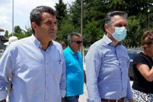 Τεχνικά Έργα 3.912.400 ευρώ που υλοποιούνται στην Π.Ε. Καστοριάς, επισκέφτηκε ο Περιφερειάρχης Δυτικής Μακεδονίας Γιώργος Κασαπίδης