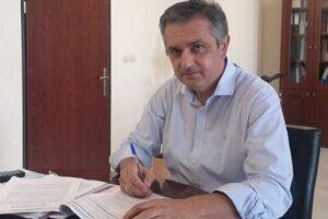 Κασαπίδης Γιώργος: Υπογραφή Προγραμματικής Σύμβασης για το έργο «Μελέτες βελτίωσης οδικού τμήματος Καισαρειά-Αιανή με κατασκευή γέφυρας στη θέση Χάνδακα»