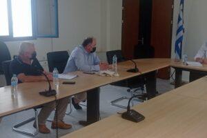 Συνάντηση Περιφερειάρχη Δυτικής Μακεδονίας με το Διοικητή του Μποδοσάκειου Γενικού Νοσοκομείου Πτολεμαΐδας