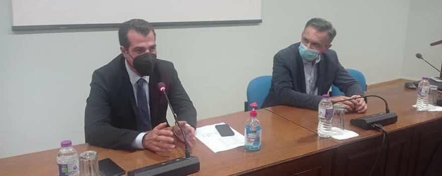 Ευρεία Σύσκεψη για την πορεία της Πανδημίας και την αντιμετώπισή της στην Περιφέρεια Δυτικής Μακεδονίας, παρουσία του Υπουργού Υγείας Θάνου Πλεύρη 1