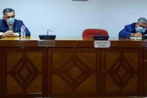 Συνάντηση του Περιφερειάρχη Δυτικής Μακεδονίας Γιώργου Κασαπίδη με τον Δήμαρχο Εορδαίας Παναγιώτη Πλακεντά1