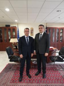 Ενημερωτική συνάντηση με τον Διοικητή της 3ης ΥΠΕ κ. Μπογιατζίδη Παναγιώτη και τους Υποδιοικητές της 3ης ΥΠΕ πραγματοποιήθηκε σήμερα το πρωί, στο γραφείο του Περιφερειάρχη Δυτικής Μακεδονίας κ. Κασαπίδη Γιώργου