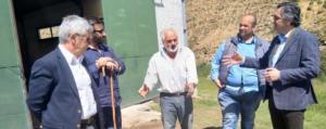 Επίσκεψη του Περιφερειάρχη Δυτικής Μακεδονίας στη Δεσκάτη και τα Γρεβενά