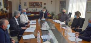 Επίσκεψη του Περιφερειάρχη Δυτικής Μακεδονίας στην Π.Ε. Φλώρινας για την κατάρτιση του τεχνικού προγράμματος 2021 (1)