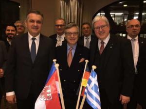 Επίσκεψη Περιφερειάρχη Δυτικής Μακεδονίας στο Γερμανο – Ελληνικό Επιχειρηματικό Σύνδεσμο του Βερολίνου