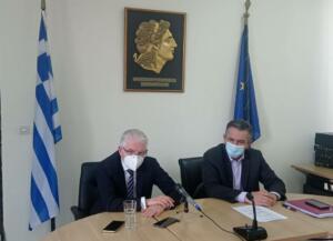 Επίσκεψη του Προέδρου ΕΛΓΑ κ. Ανδρέα Λυκουρέντζου στη Δυτική Μακεδονία για τις σοβαρές ζημίες από παγετό στις δενδρώδεις καλλιέργειες της Περιφέρειας 1