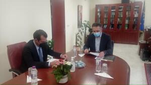 Ευρεία Σύσκεψη για την πορεία της Πανδημίας και την αντιμετώπισή της στην Περιφέρεια Δυτικής Μακεδονίας, παρουσία του Υπουργού Υγείας Θάνου Πλεύρη 2