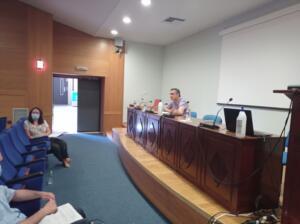 Συνάντηση εργασίας με θέμα: «Άνθρωπος και αρκούδα, στρατηγική για μια αρμονική συνύπαρξη», με πρωτοβουλία του Περιφερειάρχη Δυτικής Μακεδονίας, στο κτίριο της Περιφέρειας,