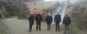 Επίσκεψη κλιμακίου της Περιφερειακής Αρχής με επικεφαλής τον Περιφερειάρχη Γιώργο Κασαπίδη, σε αρδευτικά δίκτυα της Π.Ε. Κοζάνης