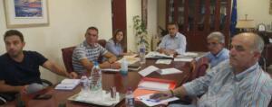 Περιφερειάρχης - Κινητικότητα για Περιφερειακό χωροταξικό, καταρροϊκό και επενδύσεις