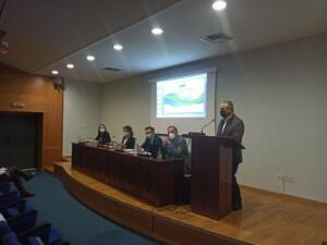 Η πορεία υλοποίησης των έργων για το φυσικό αέριο στην Περιφέρεια Δυτικής Μακεδονίας, συζητήθηκε στη συνάντηση του Περιφερειάρχη Δυτικής Μακεδονίας Γιώργου Κασαπίδη με κλιμάκιο του ΔΕΣΦΑ Α.Ε. 1