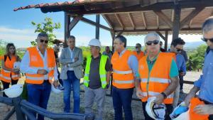Συνεχίζει τις επαφές ο Συντονιστής του σχεδίου Δίκαιης Αναπτυξιακής Μετάβασης Κωνσταντίνος Μουσουρούλης στην Περιφέρεια Δυτικής Μακεδονίας, συνοδευόμενος από τον Περιφερειάρχη Γιώργο Κασαπίδη
