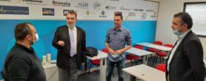 Το Εθνικό Κέντρο Έρευνας και Τεχνολογικής Ανάπτυξης (ΕΚΕΤΑ) στη Θεσσαλονίκη επισκέφτηκε χθες, 12 Ιουνίου, ο Περιφερειάρχης Δυτικής Μακεδονίας Γιώργος Κασαπίδης