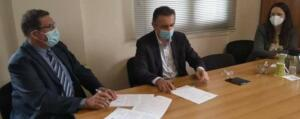 Υπογραφή Προγραμματικής Σύμβασης 2.050.000 € για την Ενεργειακή Αναβάθμιση του Γενικού Νοσοκομείου Καστοριάς παρουσία του Περιφερειάρχη Δυτικής Μακεδονίας Γιώργου Κασαπίδη 2