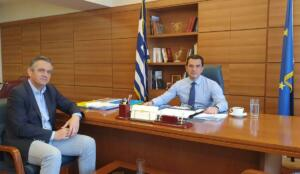 Ο Κασαπίδης συζήτησε θέματα υποδομών του Υπουργείου Αγροτικής Ανάπτυξης και Τροφίμων με τον αρμόδιο Yφυπουργό κ. Σκρέκα