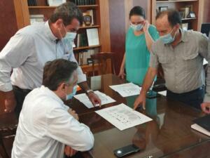 Συνάντηση Εργασίας του Περιφερειάρχη Δυτικής Μακεδονίας για θέματα που αφορούν το Διοικητήριο της Π.Ε. Καστοριάς 5