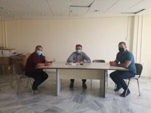 Συνάντηση του Περιφερειάρχη Δυτικής Μακεδονίας Γιώργου Κασαπίδη με το Διευθυντή του ΕΚΑΒ Δυτικής Μακεδονίας Σάββα Γιασσά 1