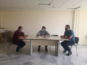 Συνάντηση του Περιφερειάρχη Δυτικής Μακεδονίας Γιώργου Κασαπίδη με το Διευθυντή του ΕΚΑΒ Δυτικής Μακεδονίας Σάββα Γιασσά 2