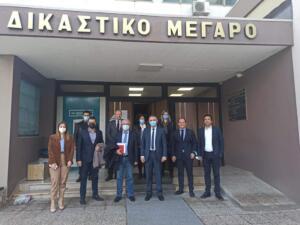 Συνάντηση του Περιφερειάρχη Δυτικής Μακεδονίας Γιώργου Κασαπίδη με τον Δικηγορικό Σύλλογο Κοζάνης 1