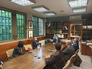 Συνάντηση του Περιφερειάρχη Δυτικής Μακεδονίας Γιώργου Κασαπίδη με τον Δικηγορικό Σύλλογο Κοζάνης 2