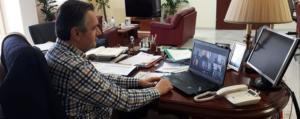 Έκτακτη σύσκεψη Περιφερειαρχών και ΚΕΔΕ με τον Υπουργό Εσωτερικών Παναγιώτη Θεοδωρικάκο