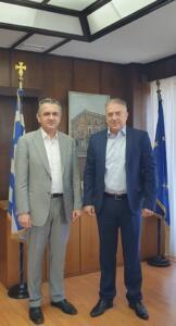 «Ειδική μέριμνα» για τη Δυτική Μακεδονία εξασφάλισε ο κ. Κασαπίδης στη συνάντηση του με τον Υπουργό Εσωτερικών κ. Παναγιώτη Θεοδωρικάκο