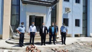 Το υπό κατασκευή Αστυνομικό Μέγαρο Γρεβενών επισκέφθηκε ο Γ.Γ. του Υπουργείου Προστασίας του Πολίτη Κωνσταντίνος Τσουβάλας, συνοδευόμενος από τον Περιφερειάρχη Δυτικής Μακεδονίας Γιώργο Κασαπίδη 1