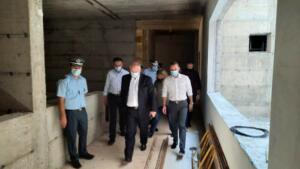 Τα υπό κατασκευή Αστυνομικά Μέγαρα Καστοριάς και Γρεβενών επισκέφθηκε ο Γ.Γ. του Υπουργείου Προστασίας του Πολίτη Κωνσταντίνος Τσουβάλας, συνοδευόμενος από τον Περιφερειάρχη Δυτικής Μακεδονίας Γιώργο Κασαπίδη 3