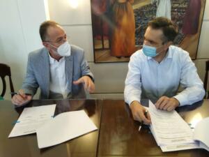 Υπογραφή Προγραμματικής Σύμβασης 121.892€ από τον Περιφερειάρχη Γ. Κασαπίδη για την Αναβάθμιση των Υποδομών του Χιονοδρομικού Κέντρου Βιτσίου 4